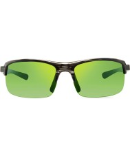 Revo RE4066 Crux N Greige Woodgrain - Green Water Polarized Sunglasses