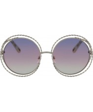 Chloe Ladies CE114ST 779 58 Carlina Sunglasses