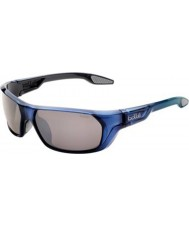 Bolle Ecrins Shiny Blue Polarized TNS Gun Sunglasses