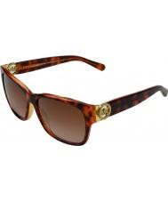 Michael Kors MK6003 58 Salzburg Tortoise Pink Yellow 300413 Sunglasses
