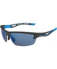 Bolle Bolt Matt Black Rose-Blue Sunglasses