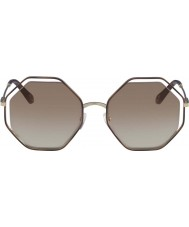 Chloe Ladies CE132S 205 58 Poppy Sunglasses
