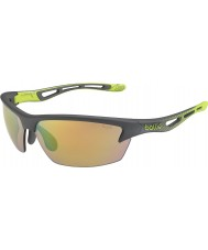 Bolle Bolt S Smoke Lime Modulator Brown Emerald Sunglasses