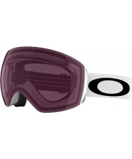 Oakley 59-717 Flight Deck Matte White - Prizm Rose Ski Goggles