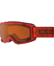 Cebe CBG117 Bionic Red - Orange Ski Goggles