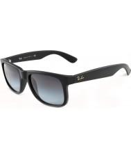 RayBan RB4165 51 Justin Rubber Black 601-8G Sunglasses