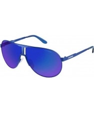 Carrera New Panamerika IDK Z0 Matte Blue Sunglasses