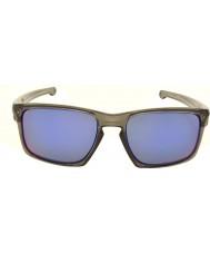 Oakley OO9262-11 Sliver Grey Smoke - Positive Red Iridium Polarized Sunglasses