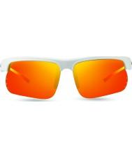 Revo RE1025 Cusp S White - Solar Orange Polarized Sunglasses