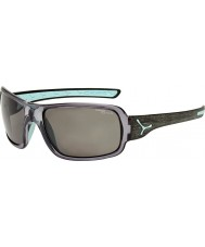 Cebe Changpa Brushed Grey Polarized Sunglasses