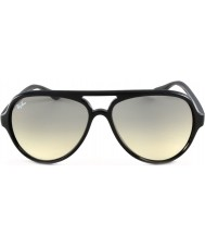 RayBan RB4125 59 Cats 5000 Black 601-32 Sunglasses