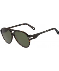 G Star GS608S Thin Spiner Green Havana Sunglasses