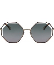 Chloe Ladies CE132S 240 58 Poppy Sunglasses