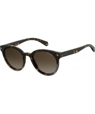 79474180b Polaroid Ladies PLD 6043 S 086 LA 51 Sunglasses
