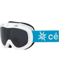 Cebe CBG122 Jerry White Snow - Dark Rose Ski Goggles