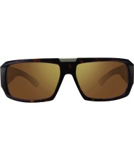 Revo RBV1004 Bono Signature Apollo Matte Tortoiseshell - Brown Polarized Sunglasses
