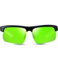 Revo RE1025 Cusp S Black Green - Green Water Polarized Sunglasses