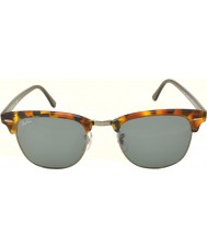 RayBan RB3016 51 Clubmaster Spotted Blue Havana 1158R5 Sunglasses
