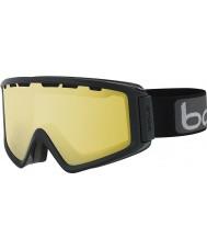 Bolle 21501 Z5 OTG Shiny Black - Lemon Gun Ski Goggles