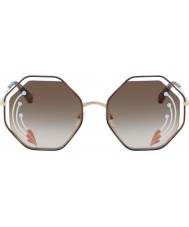 Chloe Ladies CE132SRI 258 58 Poppy Sunglasses