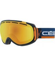 Cebe CBG123 Feel In Orange Touch - Orange Flash Fire Ski Goggles