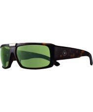 Revo RBV1004 Bono Signature Apollo Matte Tortoiseshell - Green Polarized Sunglasses