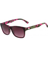 Lacoste L683S Purple Camouflage Sunglasses