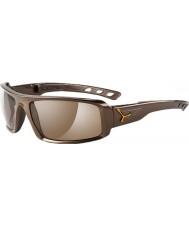 Cebe S-Sential Deep Dark Brown Sunglasses