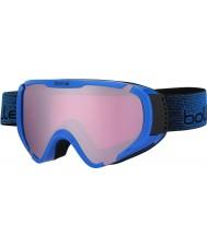 Bolle 21379 Explorer OTG Shiny Blue - Vermillion Gun Ski Goggles