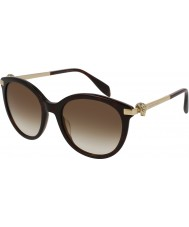 Alexander McQueen Ladies AM0083S 002 Sunglasses