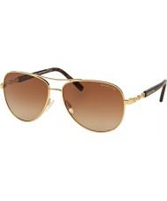 Michael Kors MK5014 59 Sabina III Gold 102413 Sunglasses