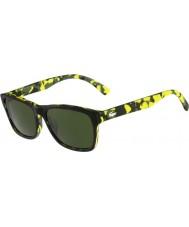 Lacoste L683S Green Camouflage Sunglasses