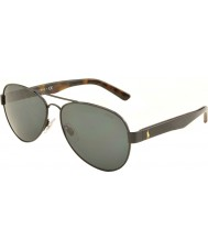Polo Ralph Lauren PH3096 63 Casual Living Black 926787 Sunglasses