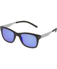 Police Mens Wager 2 SPL170-U28B Matt Black Polarized Sunglasses