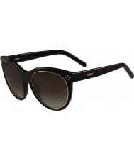 Chloe Ladies CE690S Boxwood Black Sunglasses
