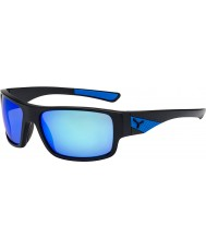 Cebe Whisper Matt Black Blue Sunglasses