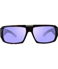 Revo RBV1004 Bono Signature Apollo Matte Tortoiseshell - Lavender Polarized Sunglasses
