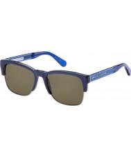 Marc Jacobs Mens MJ 526-S 6PP 70 Blue Brown Sunglasses