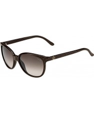 Gucci Ladies GG 3633-S DXJ HA Brown Sunglasses