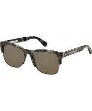 Marc Jacobs Mens MJ 526-S 6TS 70 Grey Brown Sunglasses