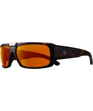 Revo RBV1004 Bono Signature Apollo Matte Tortoiseshell - Open Road Polarized Sunglasses