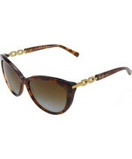 Michael Kors MK2009 56 Gstaad Brown Sparkle 4041T5 Polarized Sunglasses