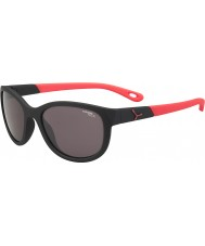 Cebe Katniss (Age 7-10) Matt Black Pink 1500 Grey Blue Light Sunglasses