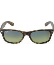 RayBan RB2132 55 New Wayfarer Matte Tortoiseshell 894-76 Polarized Sunglasses