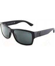 Polo Ralph Lauren PH4061 57 Matte Black 500187 Sunglasses