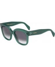 Celine Ladies CL 41805-S F4G W2 Green Sunglasses