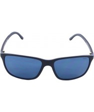 Polo Ralph Lauren PH4092 58 Matte Blue 550680 Sunglasses
