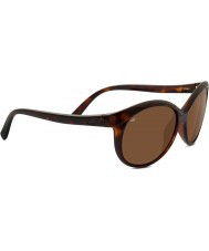 Serengeti Caterina Shiny Dark Tortoiseshell Polarized Drivers Sunglasses