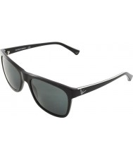 Emporio Armani EA4002 55 Essential Leisure Black 501787 Sunglasses