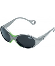 Cebe 1973 (Age 1-3) Shiny Metallic Grey 2000 Grey Sunglasses